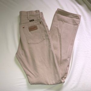 High Waisted Wrangler Pants